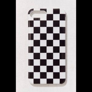 UO Recover Checkered IPhone Case